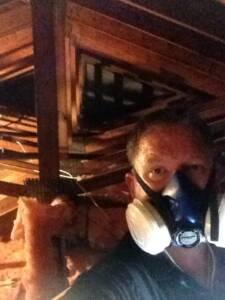 me in attic